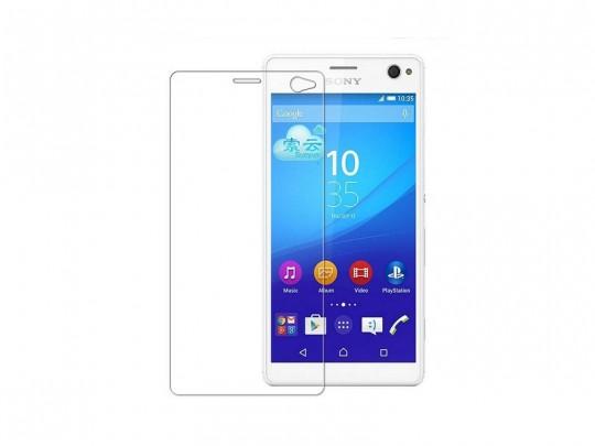 محافظ صفحه نمایش شیشه ای تمپرد مناسب برای گوشی موبایل سونی Xperia c4