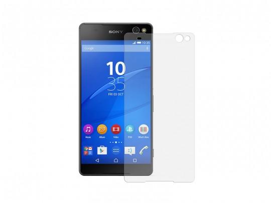 محافظ صفحه نمایش شیشه ای تمپرد مناسب برای گوشی موبایل سونی Xperia c5