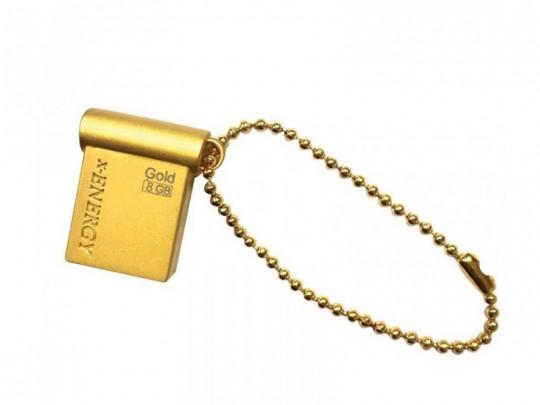 فلش مموری 8 گیگابایت X-ENERGY مدل GOLD