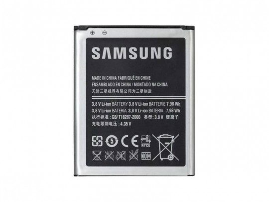 باتری موبایل سامسونگ مدل Galaxy Grand Prime با ظرفیت 2600mAh مناسب برای گوشی موبایل سامسونگ Galaxy Grand Prime