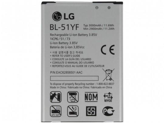 باتری موبایل ال جی مدل BL-51YF با ظرفیت 3000mAh مناسب برای گوشی ال جی G4