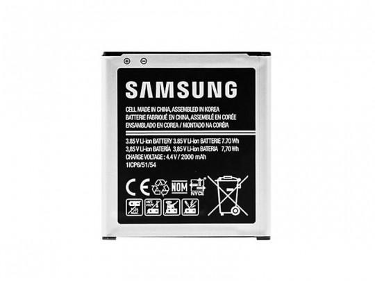 باتری موبایل سامسونگ مدل Galaxy Core Prime با ظرفیت 2000mAh مناسب برای گوشی موبایل سامسونگ Galaxy Core Prime
