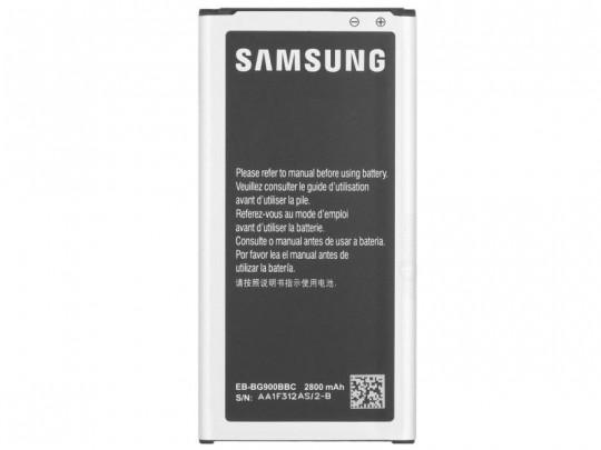 باتری سامسونگ مدل EB-BG900BBC با ظرفیت 2800 میلی آمپر ساعت مناسب برای گوشی موبایل سامسونگ Galaxy S5