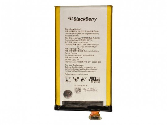 باتری موبایل بلک بری مدل CUWV1 با ظرفیت 2800mAh مناسب برای گوشی موبایل بلک بری Z30