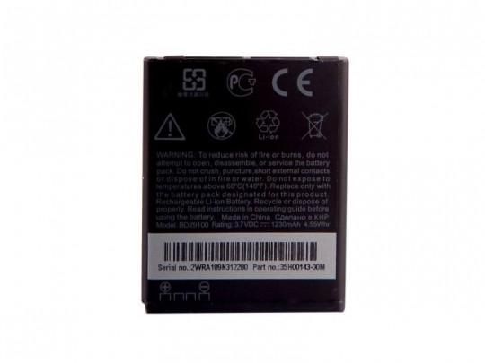 باتری موبایل اچ تی سی مدل BD29100 با ظرفیت 1230mAh مناسب برای گوشی موبایل HTC HD 7