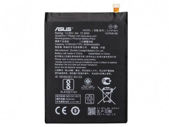 باتری موبایل ایسوس مدل C11P1611 با ظرفیت 4130mAh مناسب برای گوشی موبایل ایسوس Zenfone 3 Max
