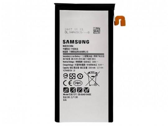 باتری موبایل سامسونگ مدل EB-BA810ABE با ظرفیت 3300mAh مناسب برای گوشی موبایل سامسونگ Galaxy A8 2016/A810