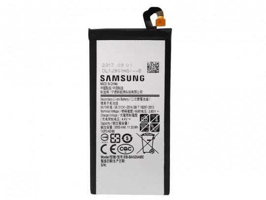 باتری موبایل سامسونگ مدل EB-BA520ABE با ظرفیت 3000mAh مناسب برای گوشی موبایل سامسونگ Galaxy A5 2017