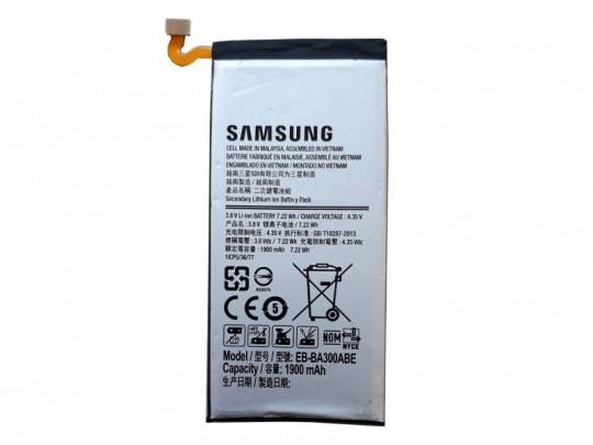 باتری سامسونگ مدل EB-BA300ABE مناسب برای گوشی موبایل A3/A300 ظرفیت 1900mAh