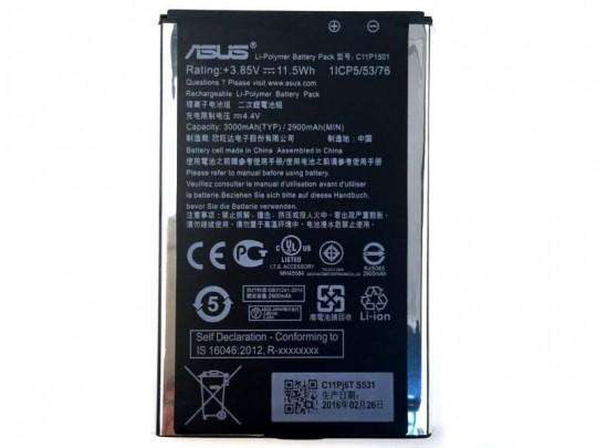 باتری موبایل ایسوس مدل C11P1501 مناسب برای گوشی Zenfone 2 Laser و Zenfone Selfie