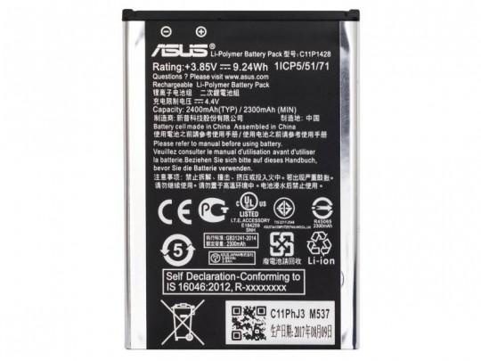 باتری موبایل ایسوس مدل C11P1428 با ظرفیت 2400mAh مناسب برای گوشی موبایل ایسوس Zenfone Selfie