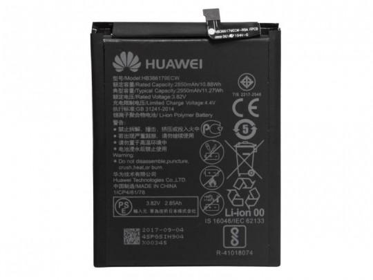 باتری موبایل هوآوی مدل HB366178ECW با ظرفیت 2950mAh مناسب برای گوشی موبایل هوآوی Nova 2