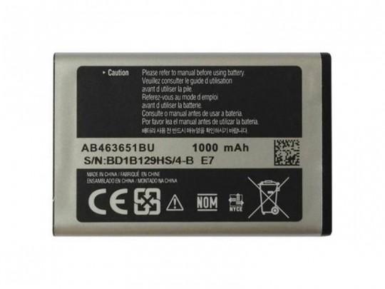 باتری موبایل سامسونگ گالکسی مدل AB463651BU با ظرفیت 1000mAh مناسب برای گوشی موبایل سامسونگ Corby