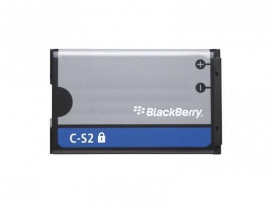 باتری موبایل بلک بری مدل C-S2 با ظرفیت 1150mAh مناسب برای گوشی های موبایل بلک بری 8520-8530-9300