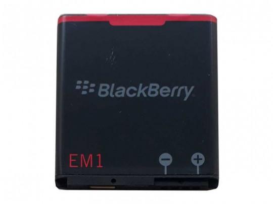 باتری موبایل بلک بری مدل EM1 مناسب برای گوشی بلک بری 9350 با ظرفیت 1000 میلی آمپر