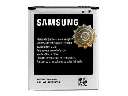 باتری موبایل سامسونگ مدل B600BE با ظرفیت 2600mAh مناسب برای گوشی موبایل سامسونگ Galaxy S4