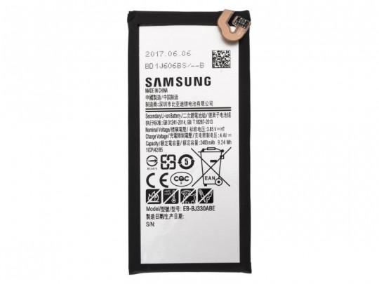 باتری موبایل سامسونگ مدل EB-BJ330ABE با ظرفیت 2400mAh مناسب برای گوشی موبایل سامسونگ Galaxy J3 Pro