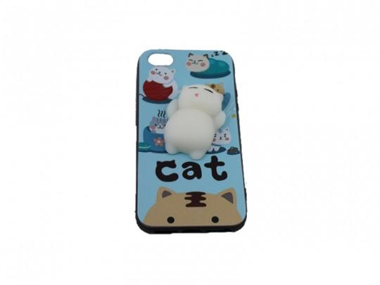 کاور طرح گربه نرمالو مناسب برای گوشی آیفون 5/5S