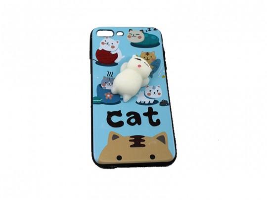 کاور طرح گربه نرمالو مناسب برای گوشی آیفون7
