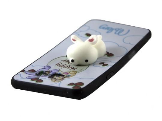 کاور طرح خرگوش نرمالو مناسب برای گوشی سامسونگ A510/ A5 2016