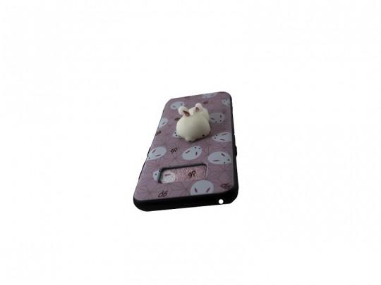 کاور طرح خرگوش2 نرمالو مناسب برای گوشی سامسونگ S8