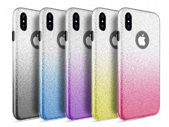 کاور ژله ای اکلیلی اوماکا مدل Shining Pattern  مناسب برای گوشی اپل آیفون X