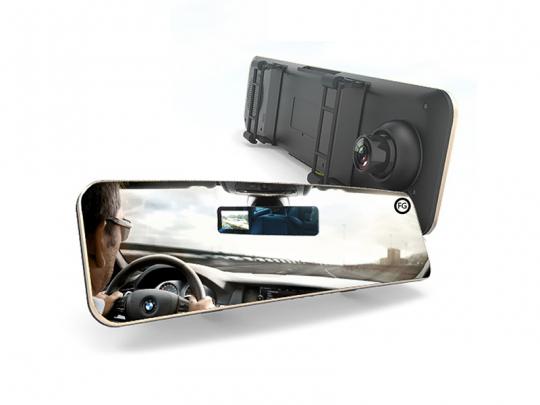آینه مانیتور دار هوشمند خودرو ریمکس مدل CX-03