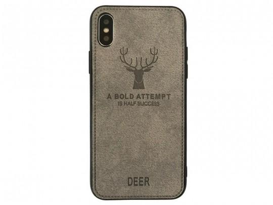 کاور طرح گوزن برلیا مدل Deer مناسب برای گوشی موبایل اپل آیفون  X/XS Max