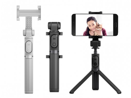 مونوپاد بلوتوثی سه پایه دار شیائومی مدل Xiaomi Selfie Stick Bluetooth Tripod Holder
