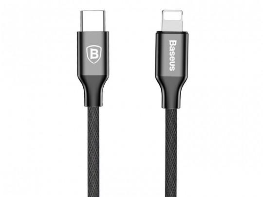 کابل تبدیل USB-C به لایتنینگ بیسوس مدل Yiven به طول 2 متر
