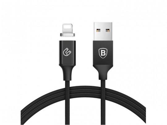 کابل تبدیل USB به لایتنینگ بیسوس مدل New Insnap Magnetic بطول 1.2 متر