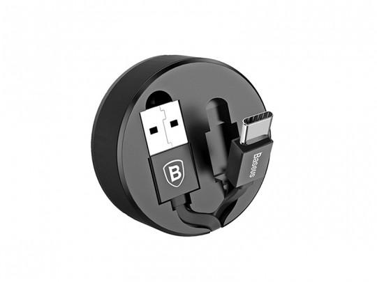کابل تبدیل USB به Type-c بیسوس مدل New Era بطول 0.9 متر