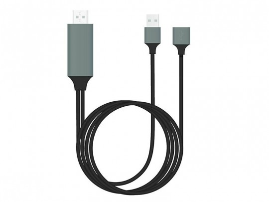 کابل تبدیل USB به HDMI مدل 3in1 HDTV
