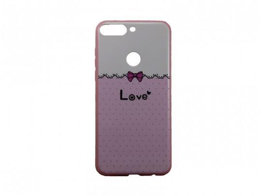 کاور محافظ طرح بلکین مدل love مناسب برای گوشی هوآویHonor 7C