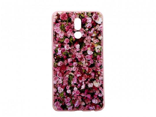 کاور محافظ طرح بلکین مدل گلهای برجسته مناسب برای گوشی هوآویMate 10 lite