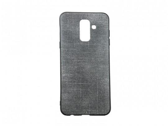 کاور پارچه ایی طرح جین مناسب برای گوشی موبایل سامسونگ A6 plus