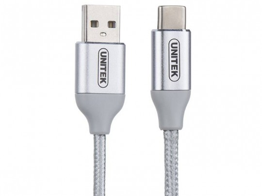 کابل تبدیل USB به USB-C یونیتک مدل Y-C4025ASL طول 1 متر
