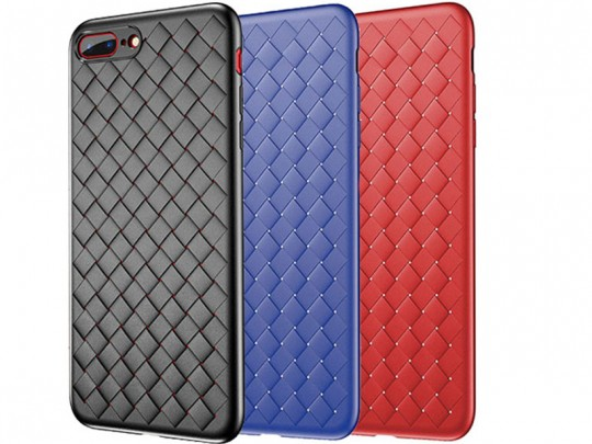 کاور طرح حصیری بیسوس مدل BV Weaving Case مناسب برای گوشی موبایل آیفون 7/8 پلاس