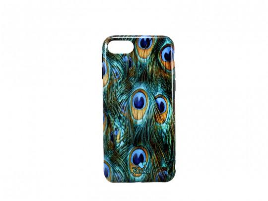 کاور مدل KUTIS طرح پر طاووس مناسب برای گوشی موبایل آیفون 7/8
