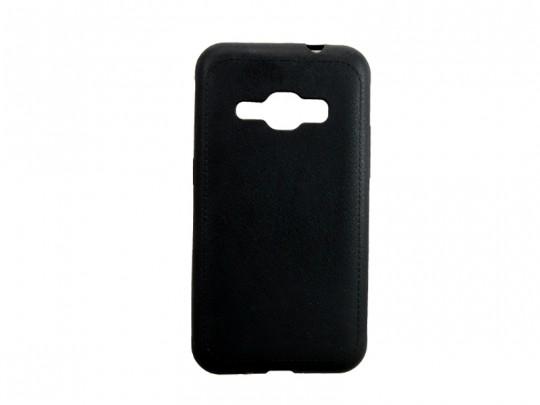 کاور طرح چرم مصنوعی مناسب برای گوشی موبایل سامسونگ J120