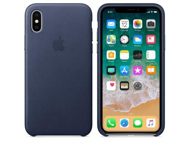 کاور چرمی اصلی اپل مناسب برای گوشی موبایل آیفون X