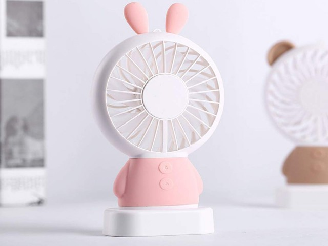 پنکه رومیزی USB بیسوس مدل Exquisite rabbit