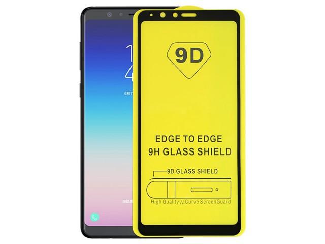 محافظ صفحه نمايش مدل 9D مناسب برای گوشی موبايل سامسونگ A8