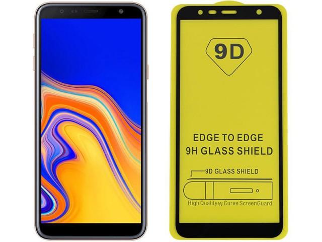 محافظ صفحه نمايش مدل 9D مناسب برای گوشی موبايل سامسونگ J4 Plus