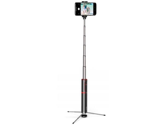 مونوپاد بلوتوثی سه پایه دار بیسوس مدل Fully Folding Selfie Stick