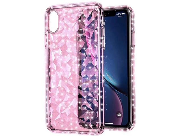کاور ژله ای با طرح الماس مدل Comie More Shine moment مناسب برای گوشی موبایل آیفون XS Max
