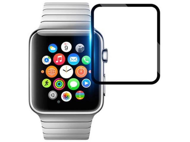 محافظ صفحه نمایش تمام چسب Watch Film مناسب برای ساعت هوشمند اپل واچ 44mm