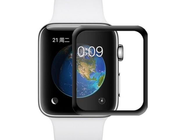 محافظ صفحه نمایش تمام چسب پرودو مدل 3D Curved Tempered Glass مناسب برای ساعت هوشمند اپل واچ 42mm