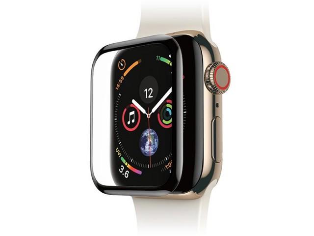 محافظ صفحه نمایش تمام چسب بیسوس مدل Screen Protector مناسب برای ساعت هوشمند اپل واچ 44mm