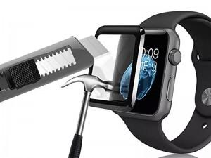 محافظ صفحه نمایش تمام چسب کوتچی مدل C2216-44 4D iWatch Glass مناسب برای ساعت هوشمند اپل واچ 44mm